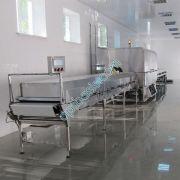 Холодильный тунель для охлаждения халвы