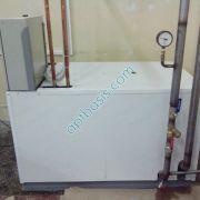 Чиллер для охлаждения раствора пропиленгликоля температура теплоносителя -1С.