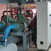 Чиллер 1200 кВт +7С +12С на базе двух винтовых компрессоров Bitzer (германия)