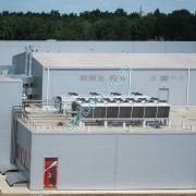 Конденсаторы фреоновые и сухая градирня водоохлаждающей установки